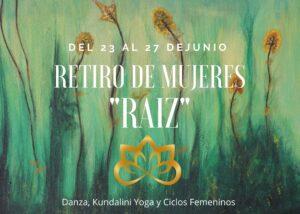 Retiro de mujeres RAIZ Momana